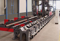 Picture of Continuous feed tube and bar blast machine RDR