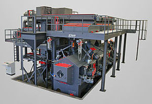 Picture of Continuous feed single strand blast machines RKL, REDL