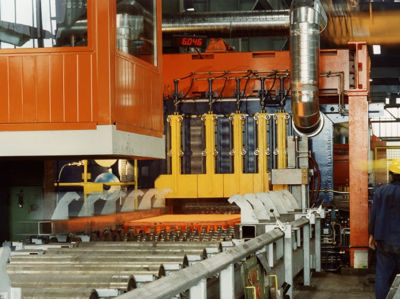 Picture of BRAUN Solutions for cutting slab, plate and sheet
