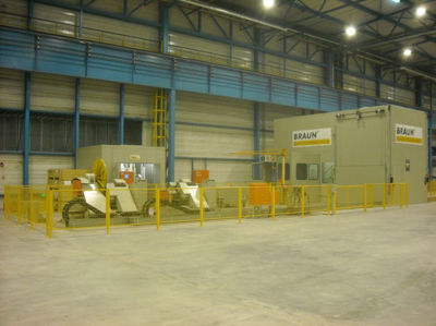 Picture of BRAUN Solutions for tube mills