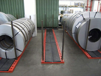 Picture of Lankhorst Steel frame for Oiltray 150x45x5