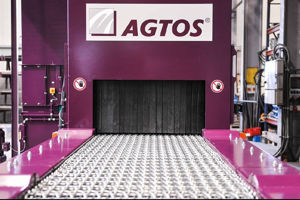 Picture for category AGTOS Wire mesh conveyor shot blast machine
