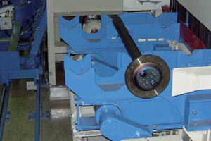 Picture for category AGTOS Walking beam shot blast machine