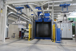 Picture for category AGTOS Hanger-type blast machine