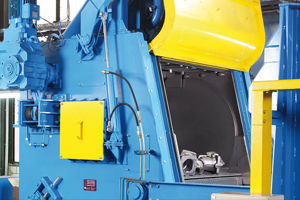 Picture for category AGTOS Steel mill tumble blast machine