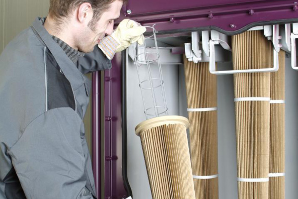 Cartridge Filter Systems for blast machines